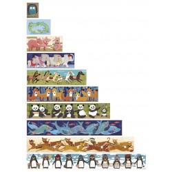 """Dėlionė """"10 pingvinų"""""""