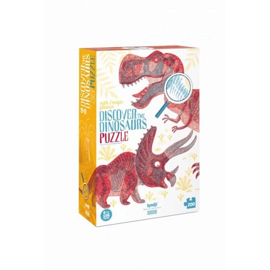 """Dėlionė """"Atrask dinozaurus"""""""