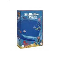 """Dėlionė """"Mano didysis mėlynasis banginis"""""""